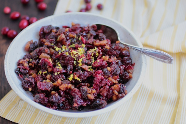 sweet cranberry chutney