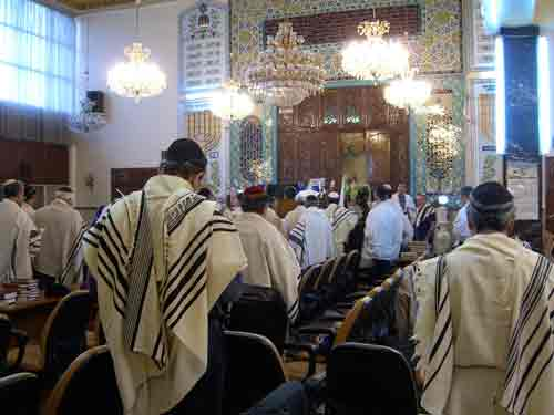 synagogue in tehran, charles london