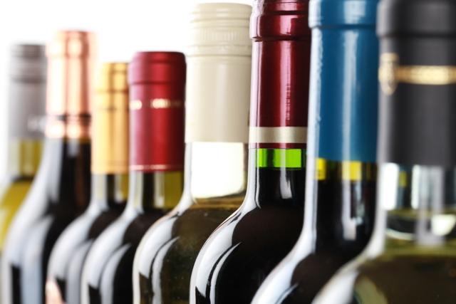 thanksgiving wine bottles