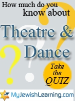 theatre and dance quiz