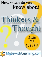 thinkers and thought quiz