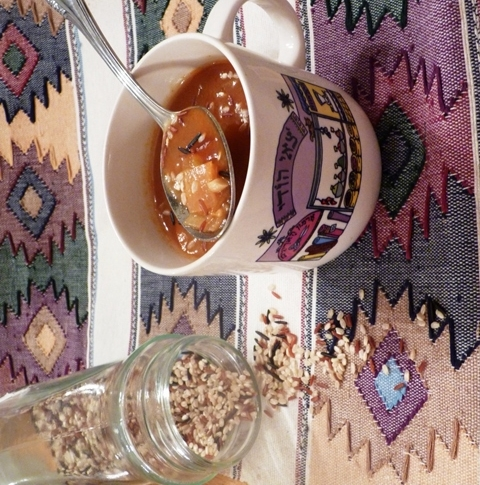 tomato soup with wild rice