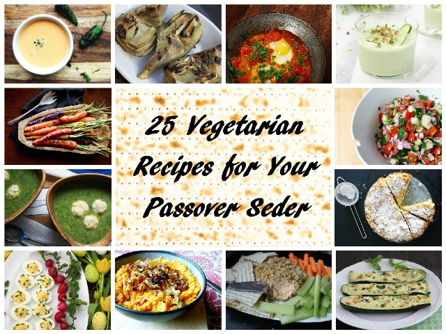 25 Vegetarian Recipes For Your Passover Seder The Nosher My Jewish Learning