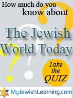 jewish world today quiz