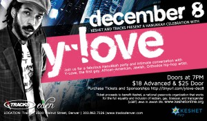 Y-Love December 8 in Denver