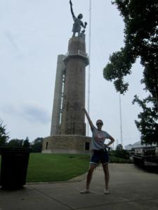 Bonding with the Vulcan in Birmingham, AL