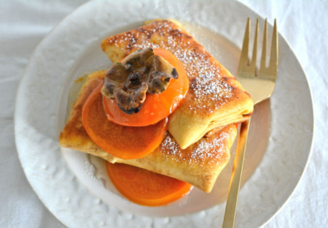 blintzes with persimmon web