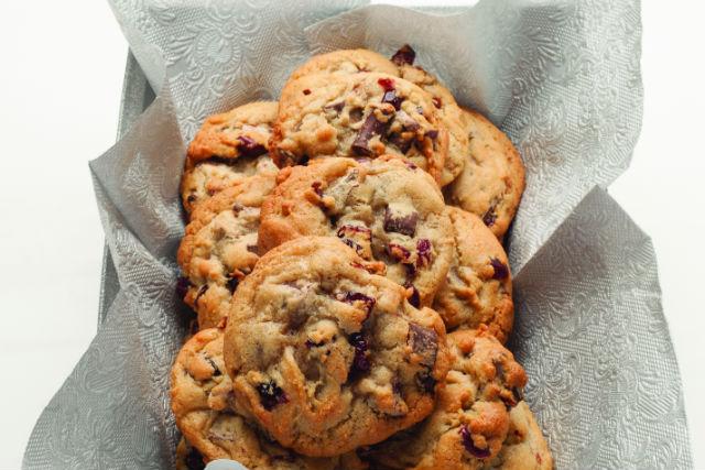 cranberry chocolate cookies2