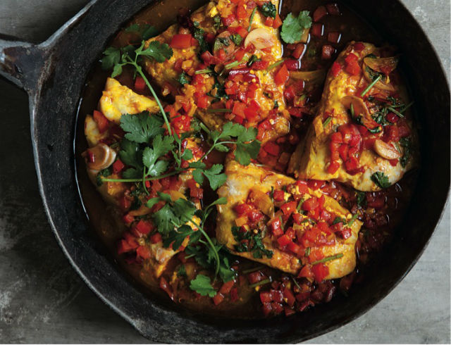 Moroccan fish recipes tomatoes