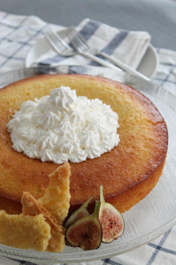 Basbousa cake vert