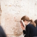 girls pray at kotel