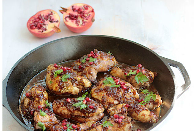 pomegranate honey chicken final