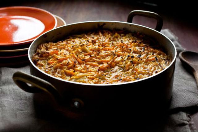 sweet potato apple kugel1