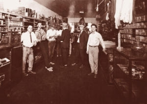 On the store floor at Pinsky's, 1920, Ruleville, Mississippi
