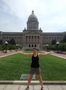 At the Kentucky State Capitol!