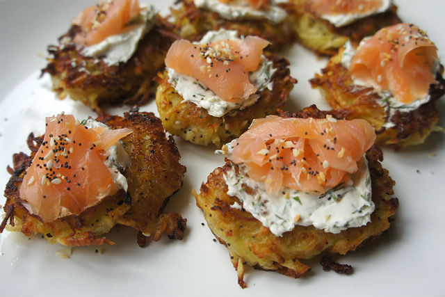 Everything Bagel latkes2