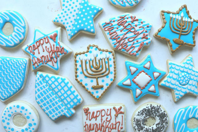 How To Decorate The Ultimate Hanukkah Cookies The Nosher