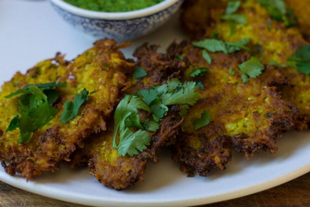 Indian Spiced Latkes Main1