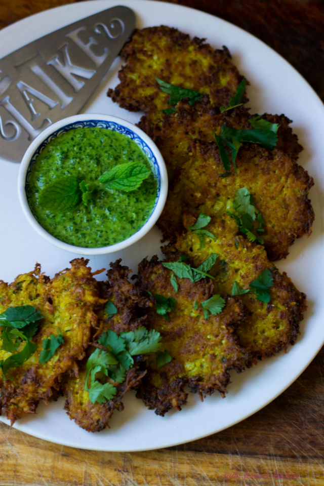 Indian Spiced Latkes2