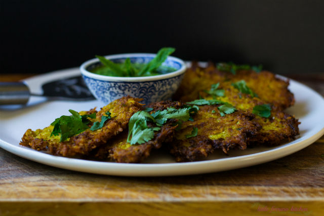 Jewish indian cuisine my jewish learning indian spiced latkes3 forumfinder Image collections