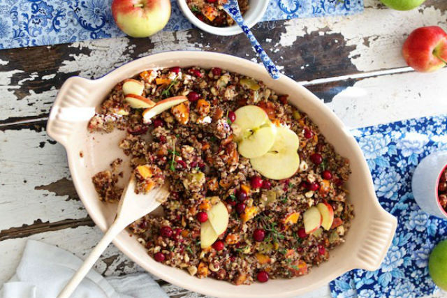 Marla Meredith quinoa stuffing