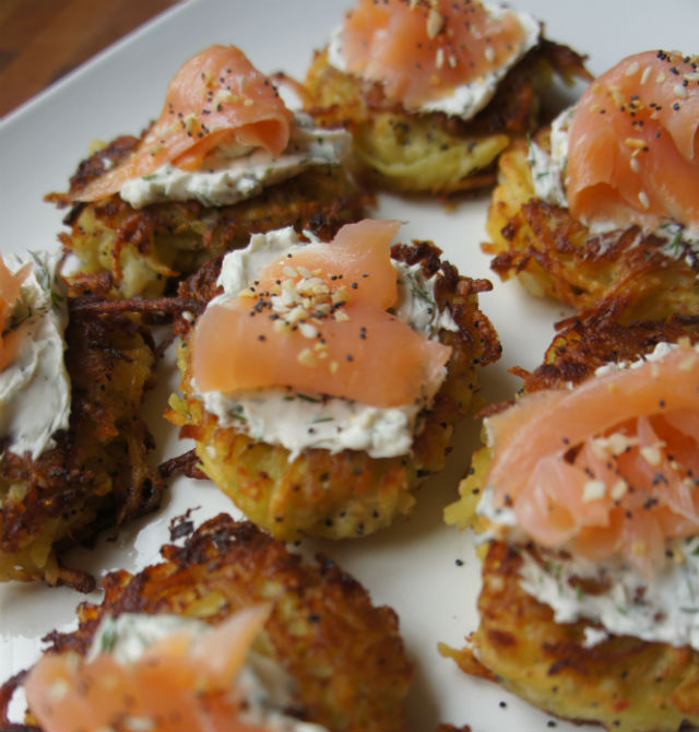 everything bagel latkes3