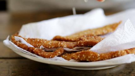 perfect chicken schnitzel