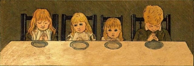 Children_saying_grace_(Afternoon_Tea_1880_cover)_