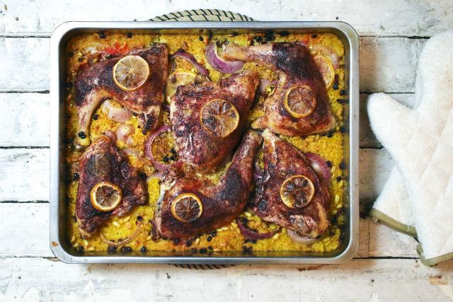 Sumac chicken and rice1