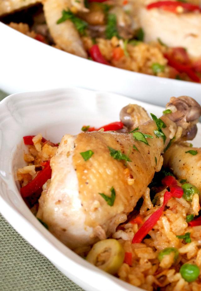 arroz con pollo vert