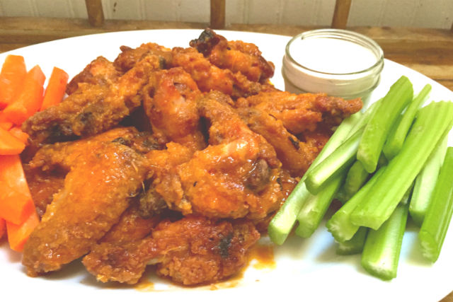 kosher hot wings main