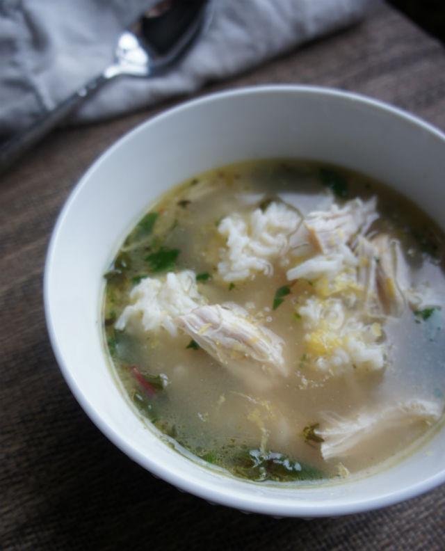 lemony chicken soup vert