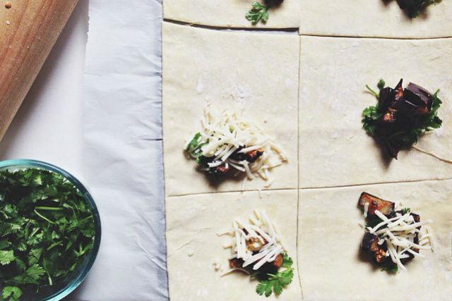 veggie bureka process