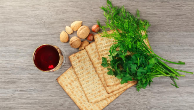 matzah passover seder haggadah