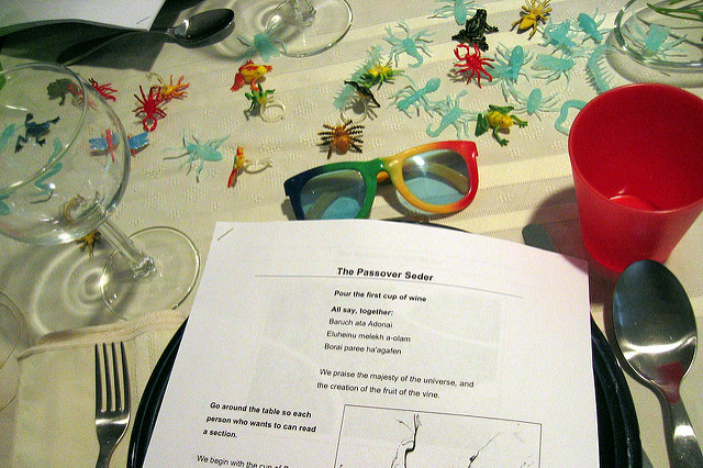 A homemade Haggadah (Susan Soneta/Flickr)