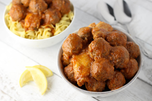 Sweet and Sour Meatballs Recipe   The Nosher - My Jewish Learning