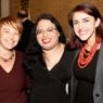 Raffi (center), pictured with Keshet's Idit Klein (left) and Joanna Ware (right)