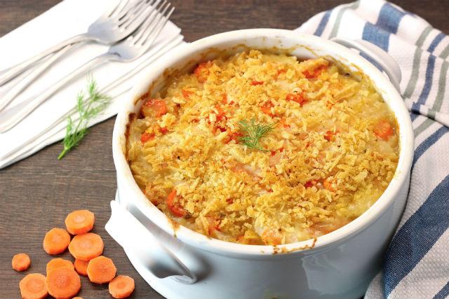 potato and carrot gratin main