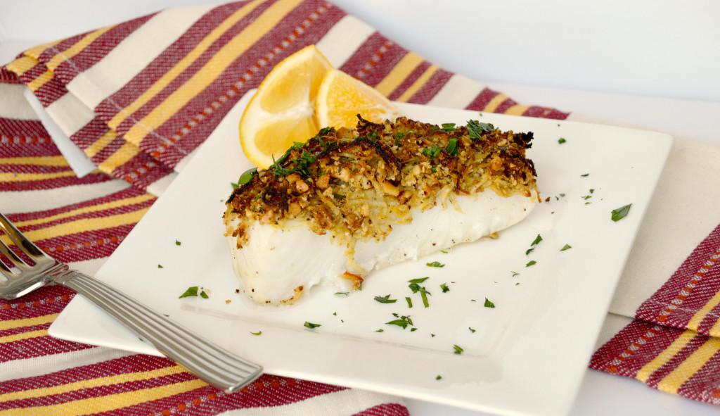 Horseradish Hazelnut Fish