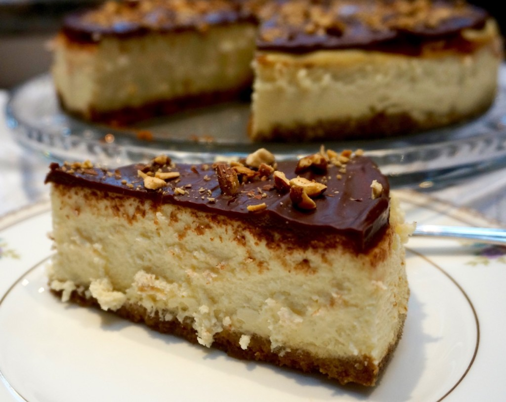 slice turtle cheesecake