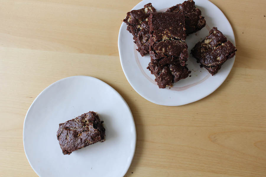 Tahini Brownies-14
