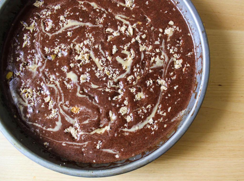 Tahini Brownies-5