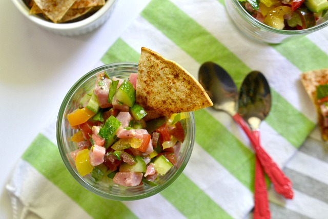 Israeli Salad Ceviche close up (1)