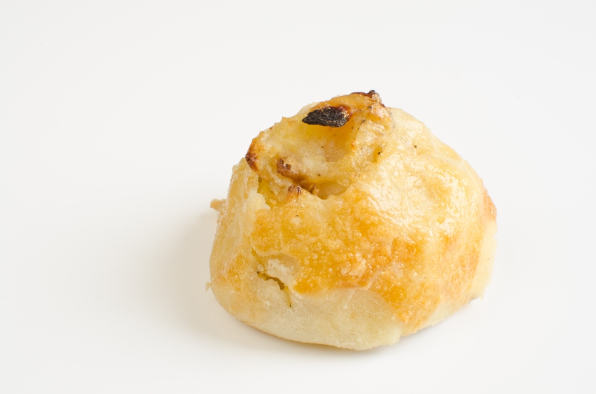 Knish with potato and onion