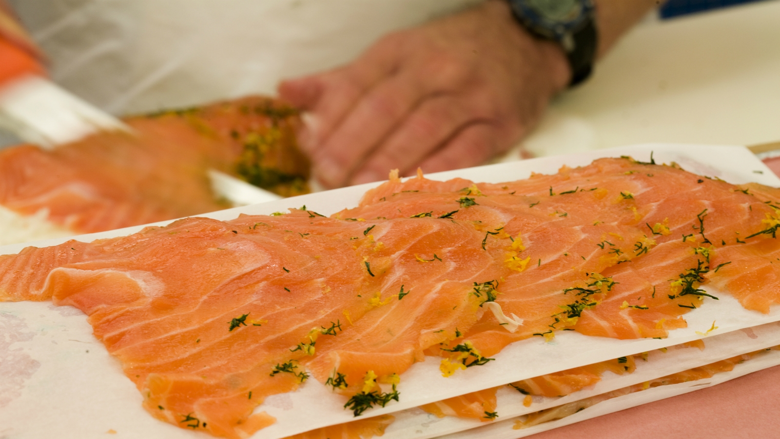 what are the different kinds of lox the nosher
