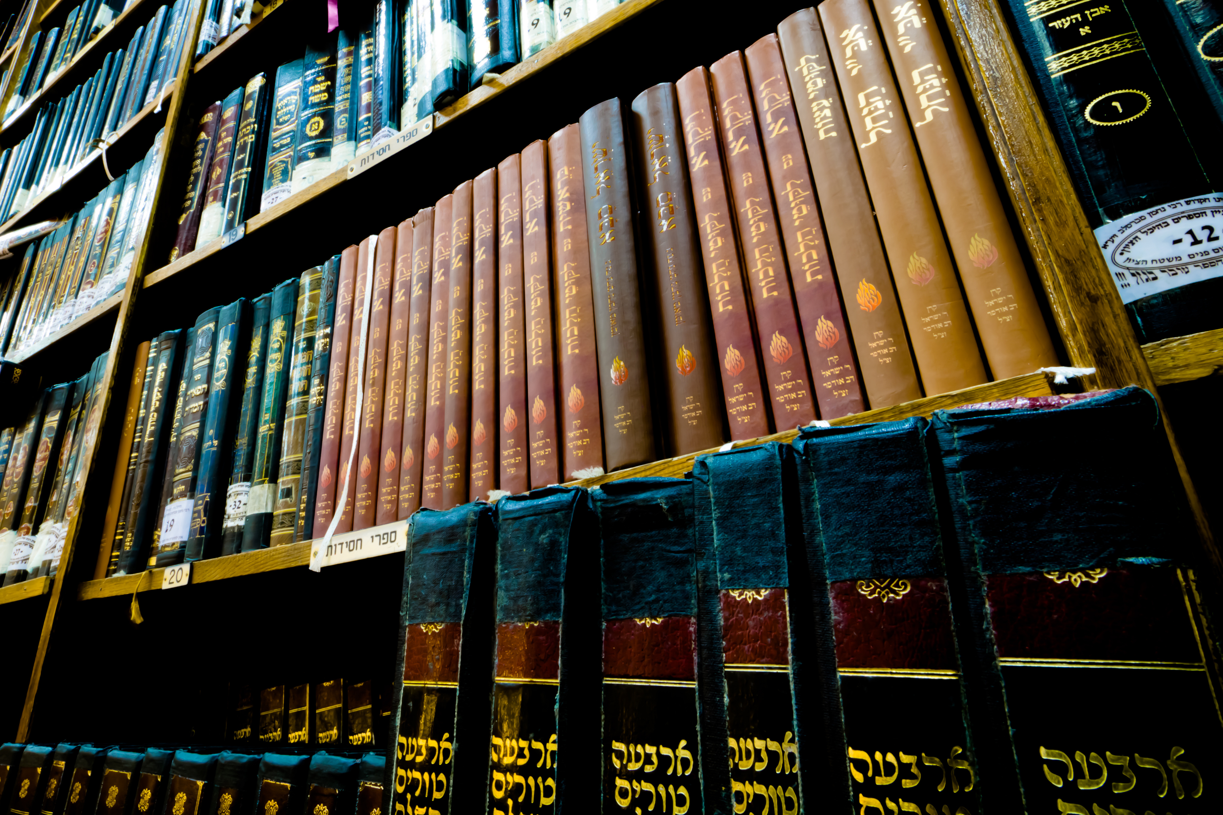 books in synagogue