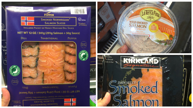 Costco smoked salmon