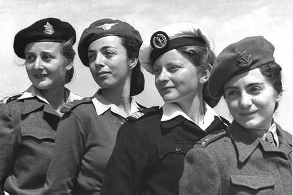 IDF_women_officers_1950