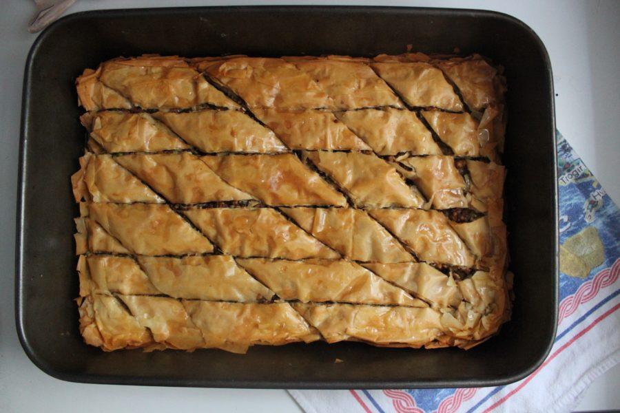 Baklava with Honey and Cardamom Recipe
