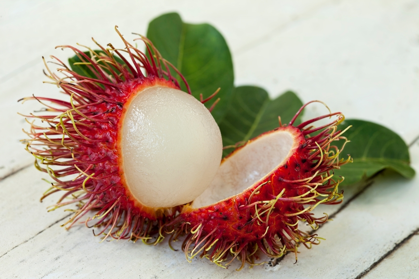 Fresh Thai Rambutan.